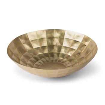 Louis Bowl - Satin Brass