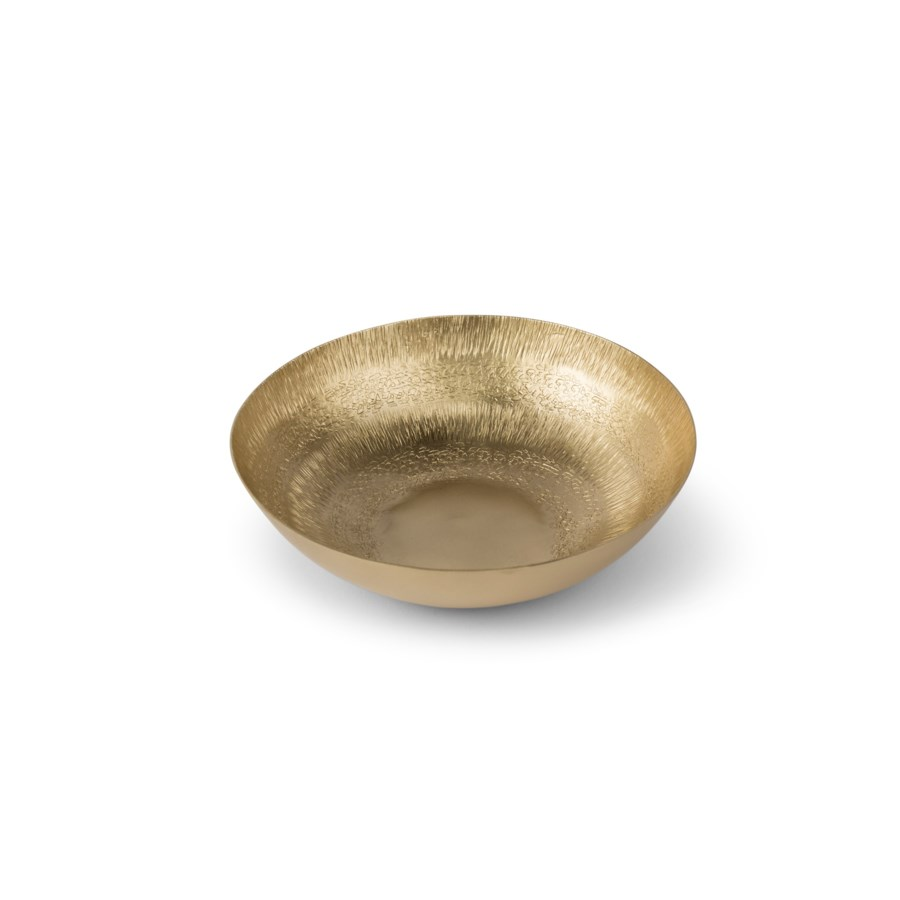 Clarice Bowl (Small) - Satin Brass