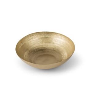 Clarice Bowl (Medium) - Satin Brass