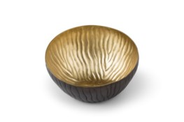 Mondo Bowl (Small) - Antique Satin Brass