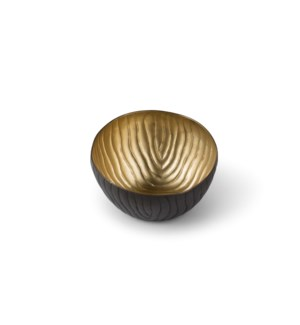 Mondo Bowl (Petite) - Antique Satin Brass