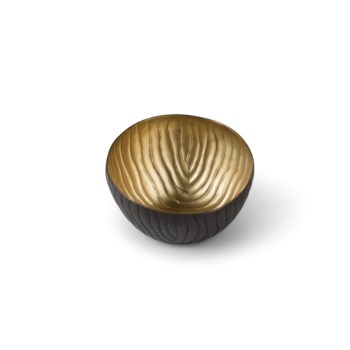 Mondo Bowl (Petite) - Antique Satin Brass