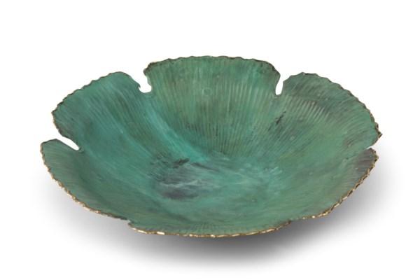 Sunan (Large) - Green Patina w/ Edge Polish