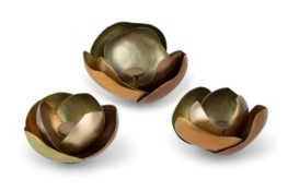 Camille (Small Set) - Satin Brass, Copper
