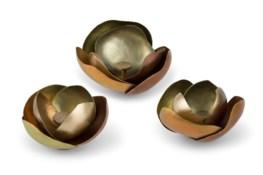 Camille (Small Set) - Satin Brass, Copper