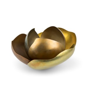 Camille (Large) - Satin Brass, Copper