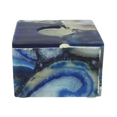 Adria Candle Holder Small - Agate