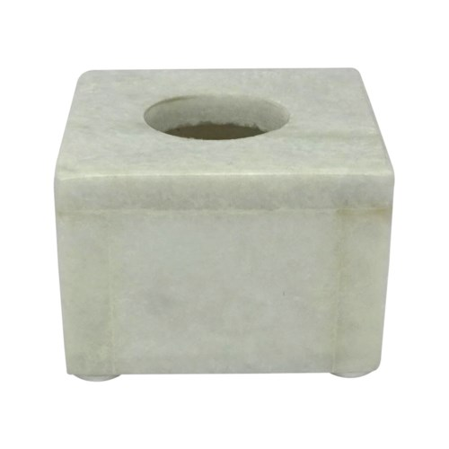 Adria Candle Holder Small - Marble