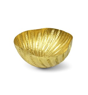 Michel Bowl - Matte Brass