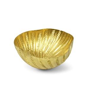 Michel Bowl - Matte Brass