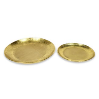 Aya Bowl Set - Polished Brass