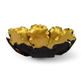 Kuri Bowl - Black & Old Gold