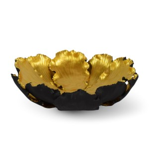 Kuri Bowl - Black & Old Gold