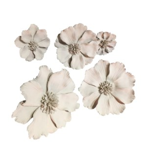 Yuki Decoration (Set of 5) - Crème