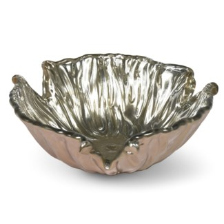 Dora Bowl (Lg) - Mirrored Old Gold