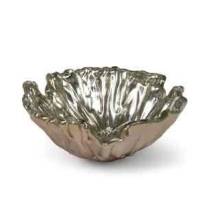 Dora Bowl (Sm) - Mirrored Old Gold