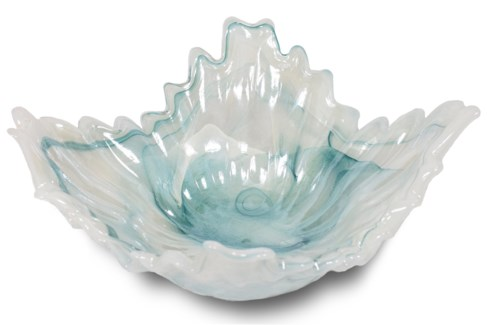 Bessie Bowl - Iridescent Soft Blue
