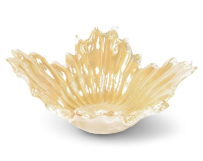 Bessie Bowl - Iridescent Peach