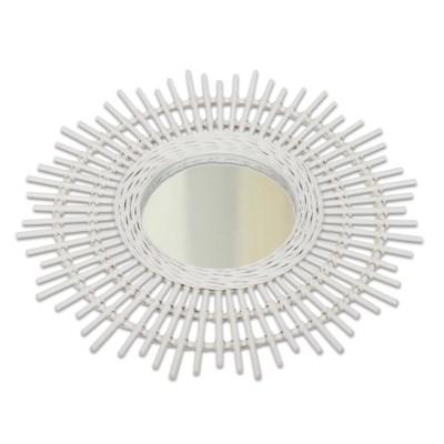 Sola Mirror (Lg) - White