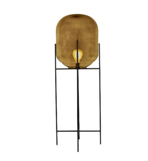 Miro Floor Lamp Tall - Light Amber