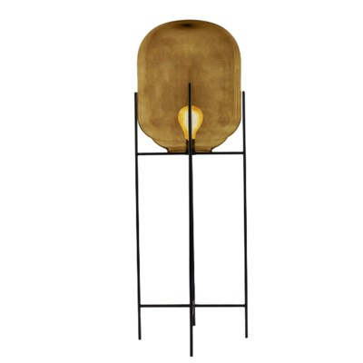 Miro Floor Lamp Tall - Light Amber