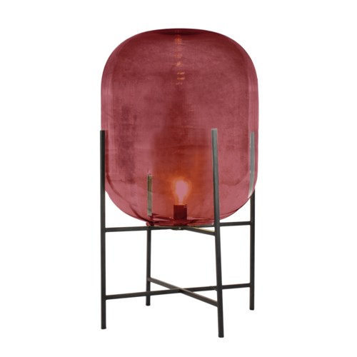 Miro Floor Lamp Short - Cherry Red