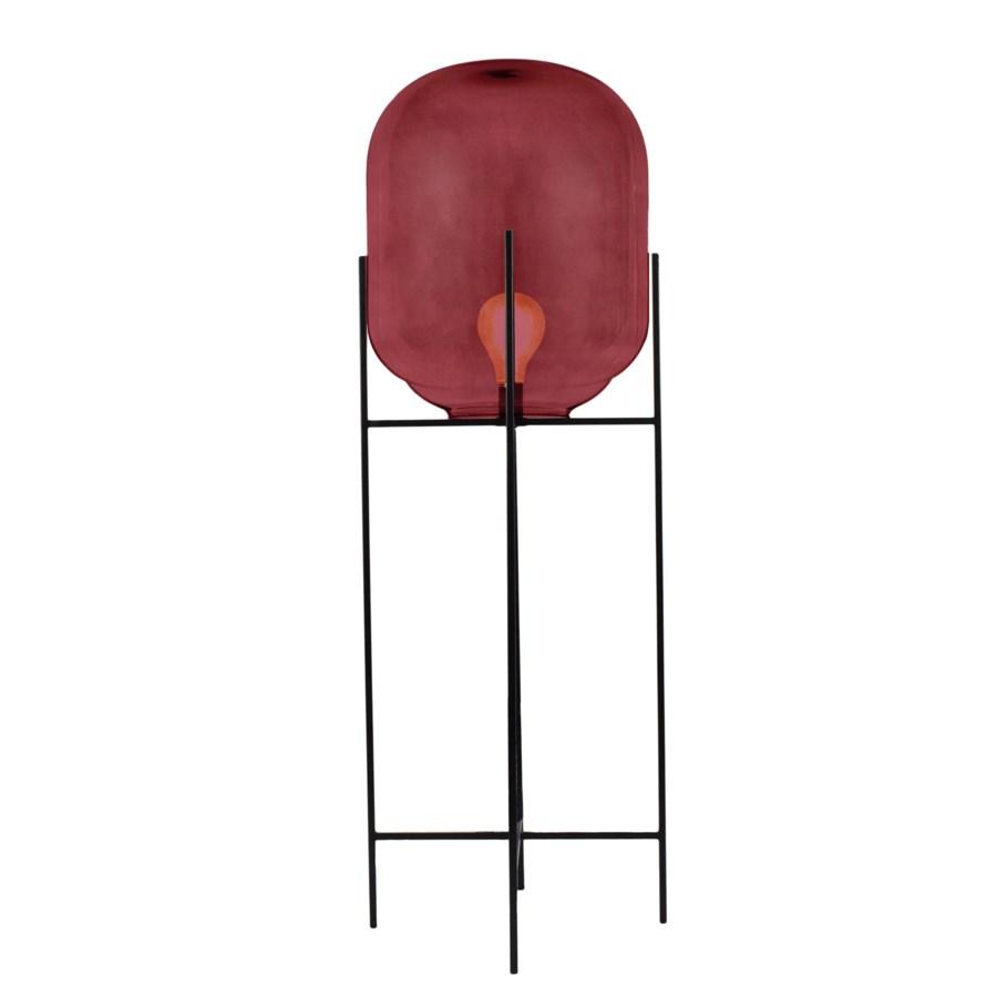 Miro Floor Lamp Tall - Cherry Red