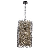 Rami Pendant - Antique and Satin Brass