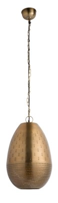 Alba Pendant (Large) - Satin Bronze