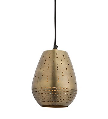 Alba Pendant (Small) - Satin Brass