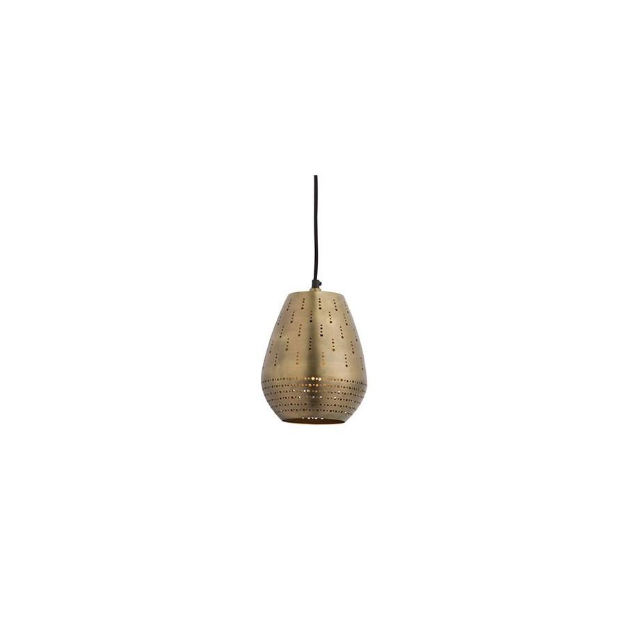 Alba Pendant (Small) - Satin Brass