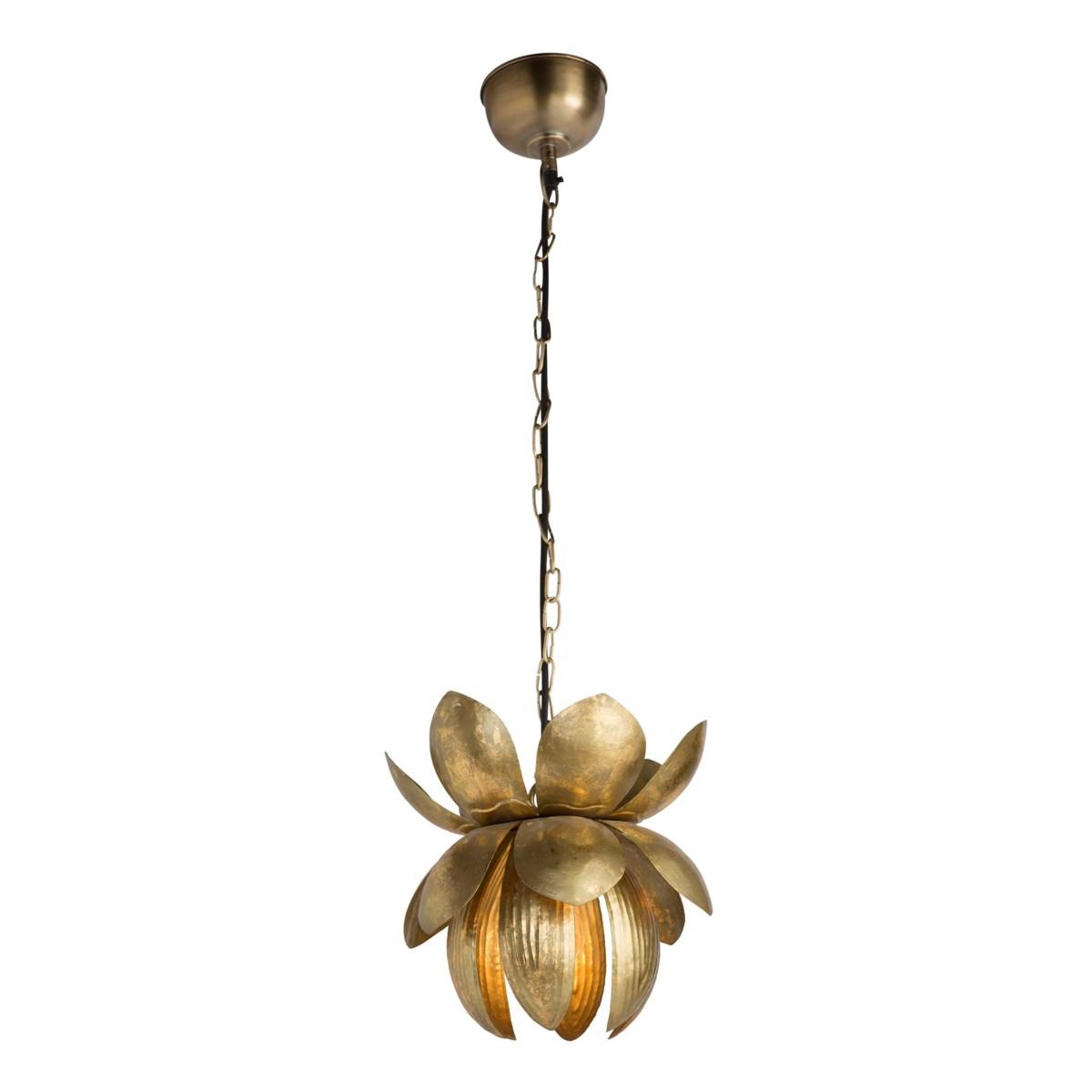 Bira Pendant - Antique Brass