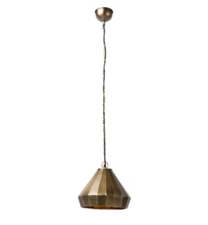 Hana Pendant (Medium) - Antique Bronze