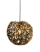 Lala Pendant (Large) - Polished Brass