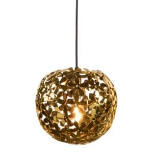 Lala Pendant (Small) - Polished Brass