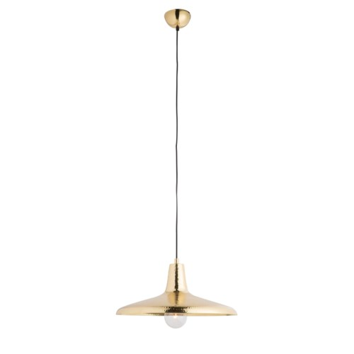 Lena Pendant - Polished Brass