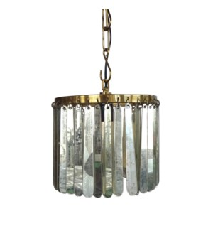 Joni Pendant - Antique Brass