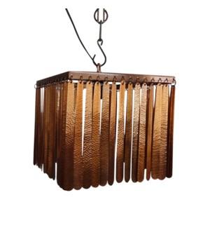Dahlia Pendant - Copper