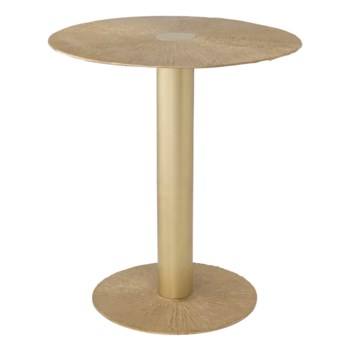 Aga Table - Satin Brass