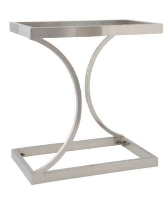Gigi Table - Polished Stainless Steel