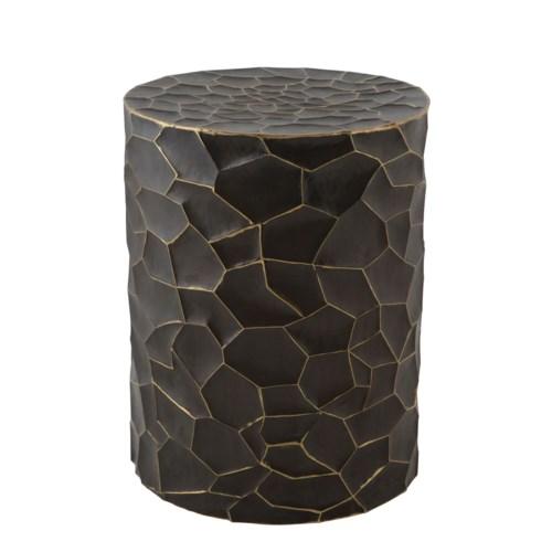 Tasha Table - Burnished Brass