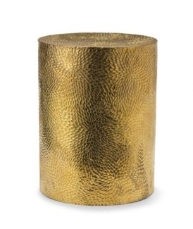 Boa Table - Hammered Polished Brass