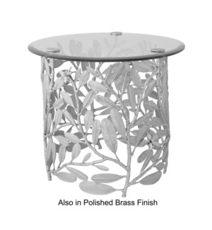 Asana Table - Burnished Brass
