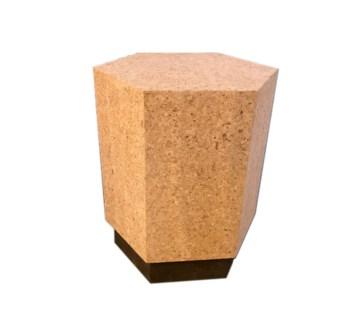Corsa Table - Light Cork, Dark Cork