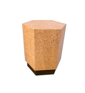 Corsa Table - Light Cork, Dark Cork