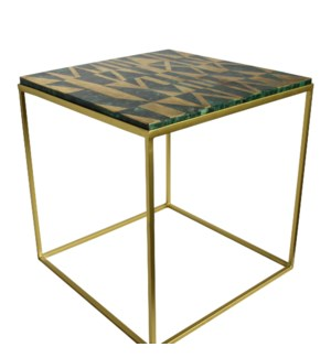 Coco Table - Malachite