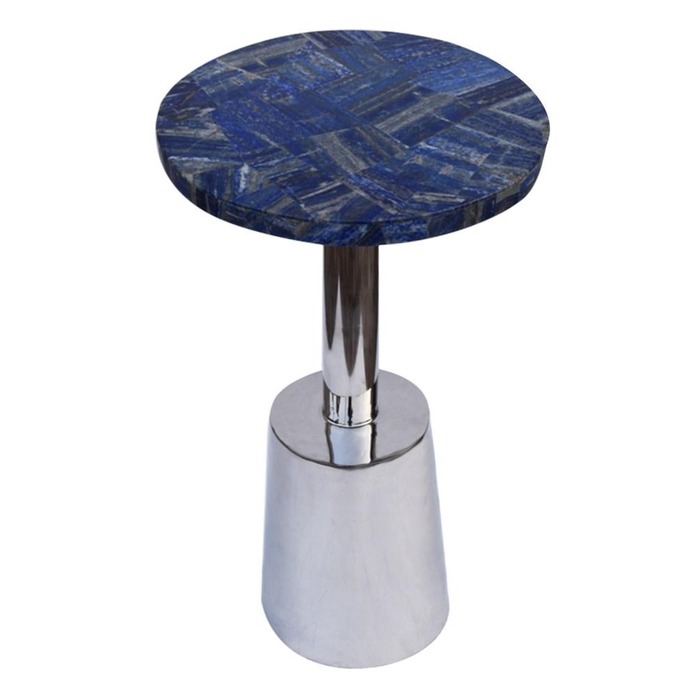Billie Accent Table (Round) - Lapis Top