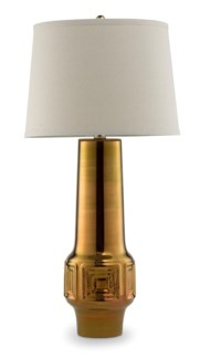 Del Rey Grande Lamp - Polished Antique Gold