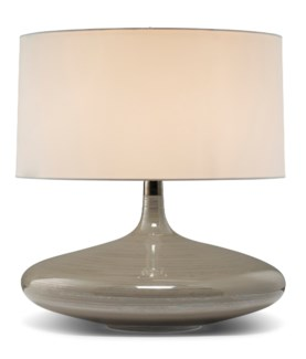 Flora Lamp - Dove Grey