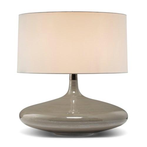 Flora Lamp - Dove Grey